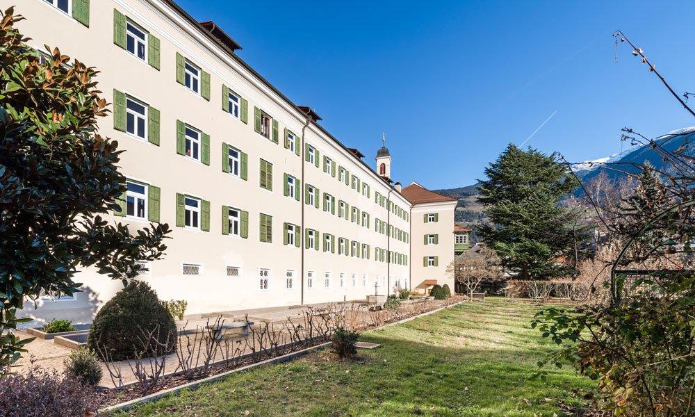 Nicht nur für Studierende: eine Unterkunft im Studentenwohnheim in Brixen