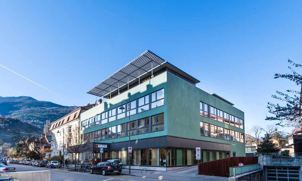 Comfortable living in the heart of Brixen: student residence Kolpinghaus